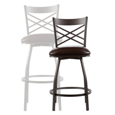"Wildon Home ® Salem 24"" Adjustable Swivel Bar Stool"