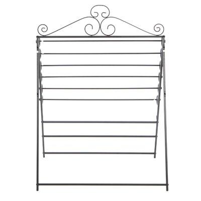 Wildon Home ® Verosa Easel / Wall Mount Craft Storage Rack in Black