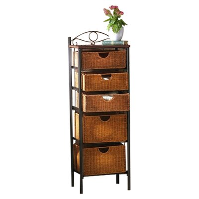 "Wildon Home ® Utah 52.25"" x 18"" Storage Unit"