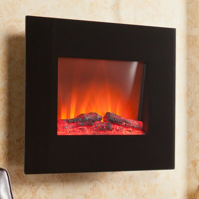 Becker Wall Mount Electric Fireplace