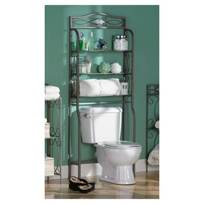 "Wildon Home ® Lyon 27.25"" x 66.5"" Bathroom Shelf"