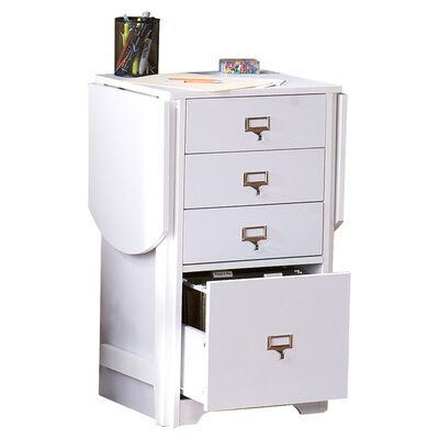 Wildon Home ® Kirnwood Fold-Out Organizer and Craft Computer Desk