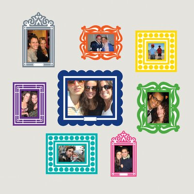 BUTCH & harold Sticker Frame (Set of 8)
