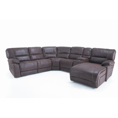 Wildon Home ® Grande Reclining Sectional