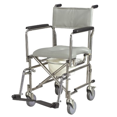 Invacare Mariner Rehab Shower Commode Wheelchair Reviews Wayfair