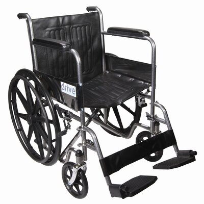 "Drive Medical 18"" Standard Wheelchair"