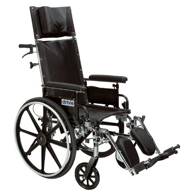 Viper Plus GT Full Reclining Lightweight Wheelchair with Detachable Desk Arms