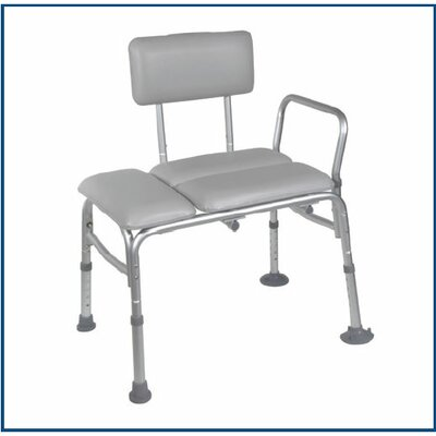 Drive Medical Knock Down Padded Transfer Bench