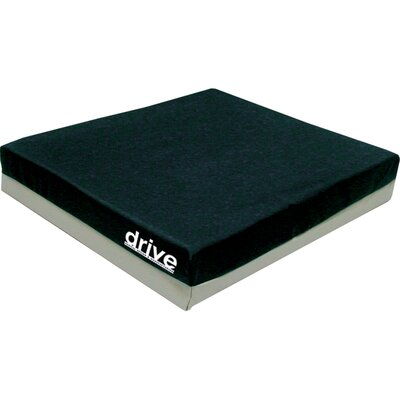 "Drive Medical General Use Gel ""E"" 2"" Wheelchair Seat Cushion"