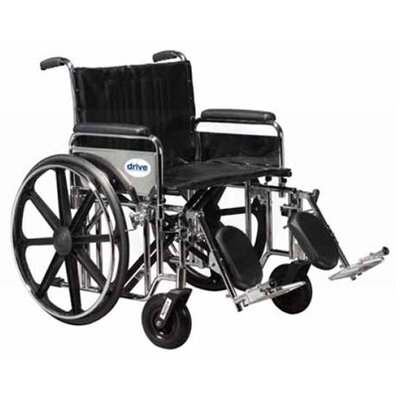 Drive Medical Sentra Extra Heavy Duty Dual Axle Wheelchair