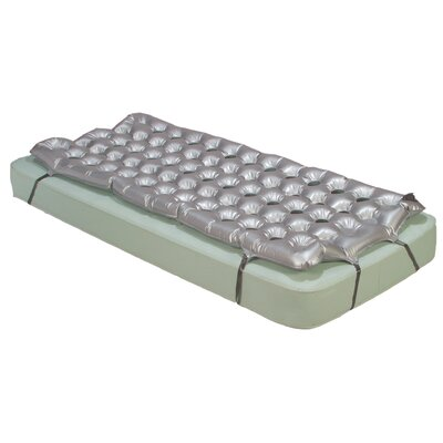 Drive Medical Static Guard Air Mattress Overlay in Dark Grey