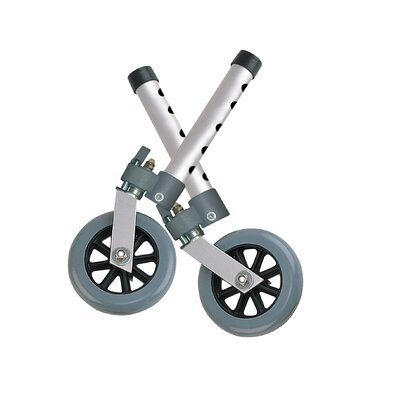"Drive Medical Swivel Lock 5"" Walker Wheels"