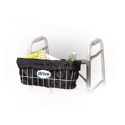Drive Medical Walker Basket Carry Bag Liner in Black