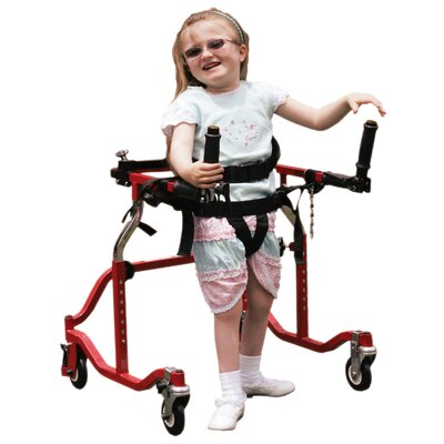 Drive Medical Luminator Gait Trainer in Red