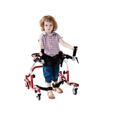 Drive Medical Star Posterior Gait Trainer in Red