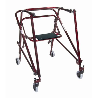 Drive Medical Solid Seat for Adult Nimbo Lightweight Posterior Posture Walker