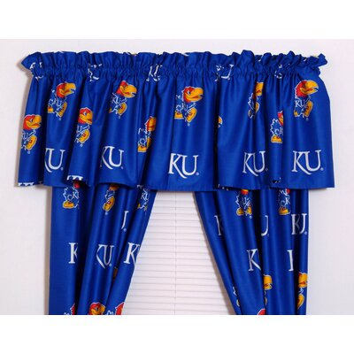 College Covers Kansas Printed Curtain Panels