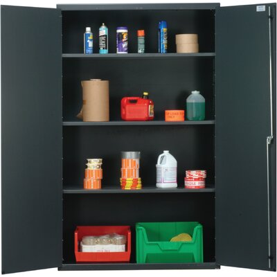 "Quantum Storage 48"" Wide Welded Storage Cabinet with Flush Doors"