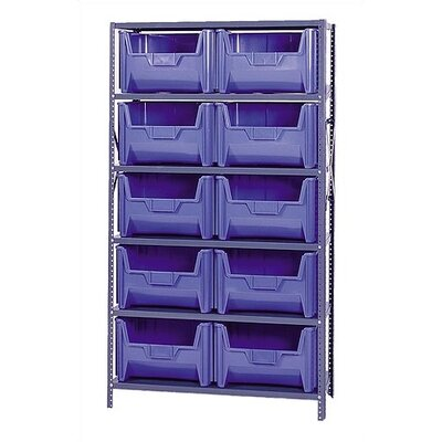Quantum Storage Giant Stack Container Shelf Storage Systems with Medium Bins