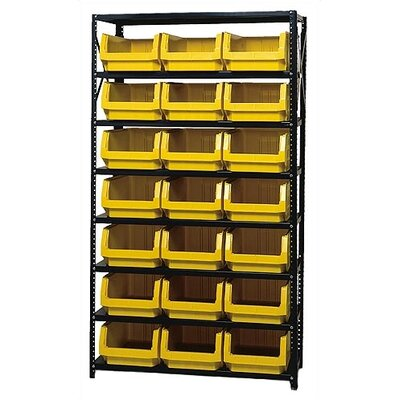 Quantum Storage 8 Shelf Giant Open Hopper Magnum Storage Unit