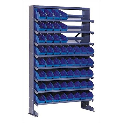 Quantum Storage Single Sided Pick Rack Shelf Storage Unit
