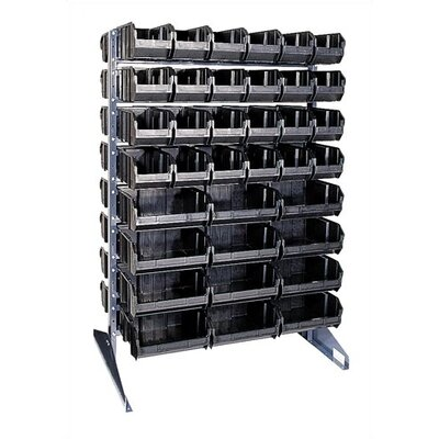 Quantum Storage Conductive Double Sided Steel Rail Rack with Optional Mobile Kit