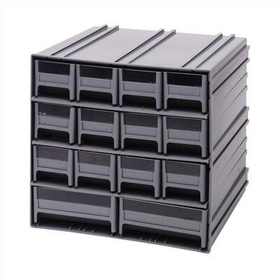 Quantum Storage 14 Drawer Interlocking Storage Cabinet
