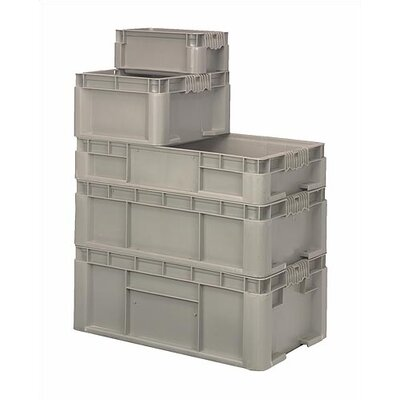 Quantum Storage Heavy Straight Wall Stacking Storage Containers