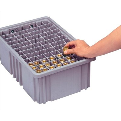 Quantum Storage Dividable Grid Storage Container Short Divider for DG91050
