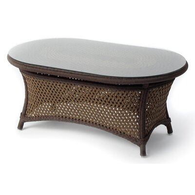 Lloyd Flanders Grand Traverse Oval Coffee Table
