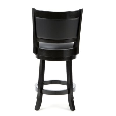 "Boraam Industries Inc Augusta 24"" Counter Stool in Black"