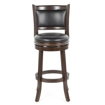 "Boraam Industries Inc Augusta 29"" Swivel Bar Stool with Cushion"