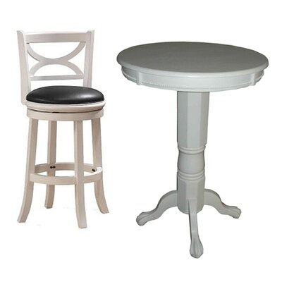 Boraam Industries Inc Florence 3 Piece Pub Table Set