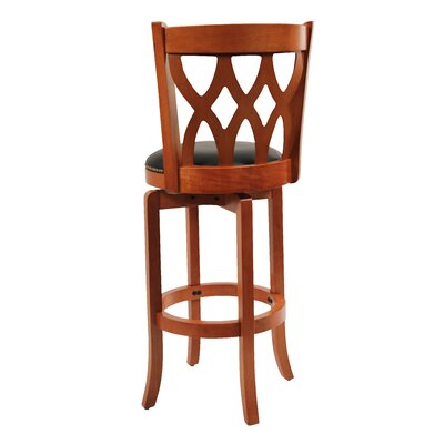 Boraam Industries Inc Cathedral 3 Piece Pub Set in Espresso Cherry