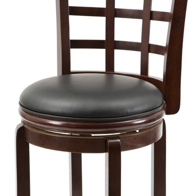 "Boraam Industries Inc 29"" Kyoto Swivel Stool in Light Cherry"