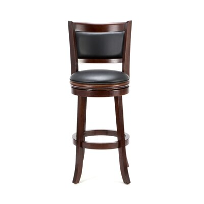 "Boraam Industries Inc Augusta 29"" Bar Stool in Cherry"
