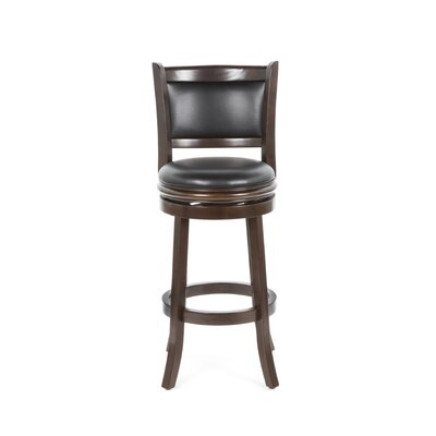 "Boraam Industries Inc Augusta 29"" Bar Stool in Cappuccino"