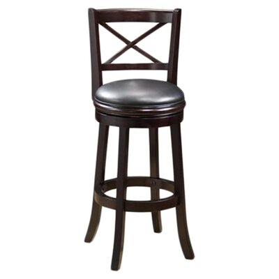 "Boraam Industries Inc Georgia 29"" Bar Stool in Light Cherry"