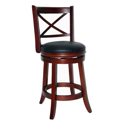 "<strong>Boraam Industries Inc</strong> Georgia 29"" Swivel Bar Stool with Cushion"