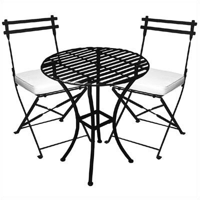 Pangaea Folding 3 Piece Bistro Set