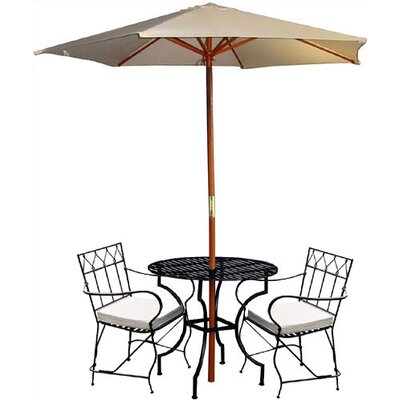 Pangaea Home and Garden 3 Piece Dining Set