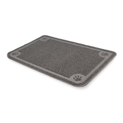 Petmate X-Large Litter Catcher Mat in Grey