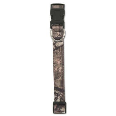 Adjustable Camo Bottomland Dog Collar