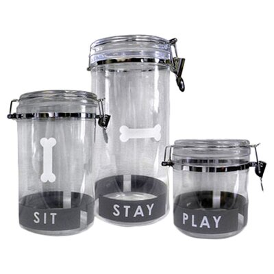 <strong>Petmate</strong> Designer Airtight Treat Jar