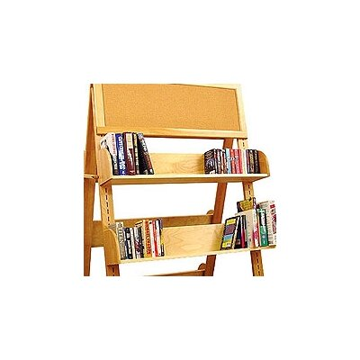 "Catskill Craftsmen, Inc. Book Carts and Racks A Frame Additional 8"" Shelf Bookcase"