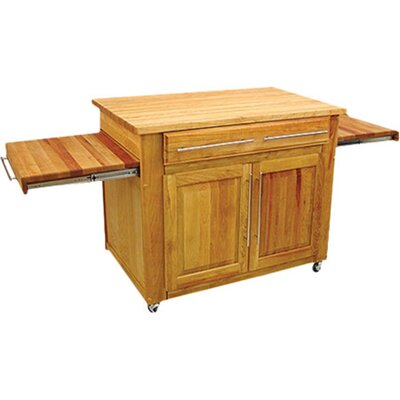 the kitchen island butcher block top prepare
