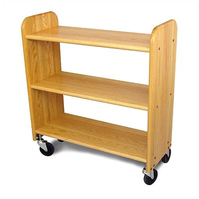 Catskill Craftsmen, Inc. Library Book Truck in Natural Oak