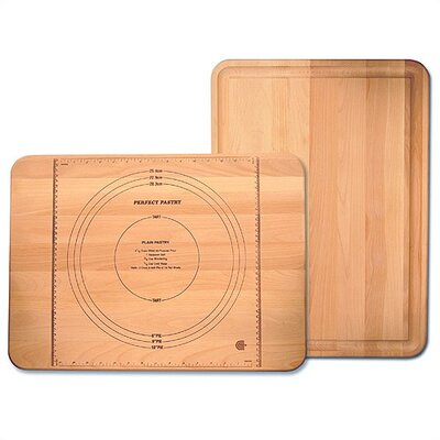 Catskill Craftsmen, Inc. Pastry Maker Board with Reverse Groove