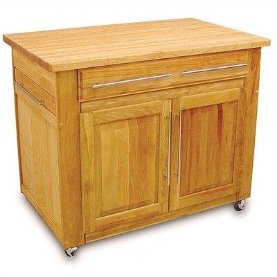 Butcher Block Kitchen Cart Canada : Catskill Craftsmen Kitchen Island with Butcher Block Top & Reviews Wayfair