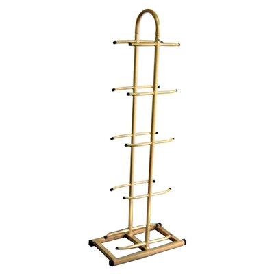 AeroMAT Deluxe 10 Ball Rack in Champagne